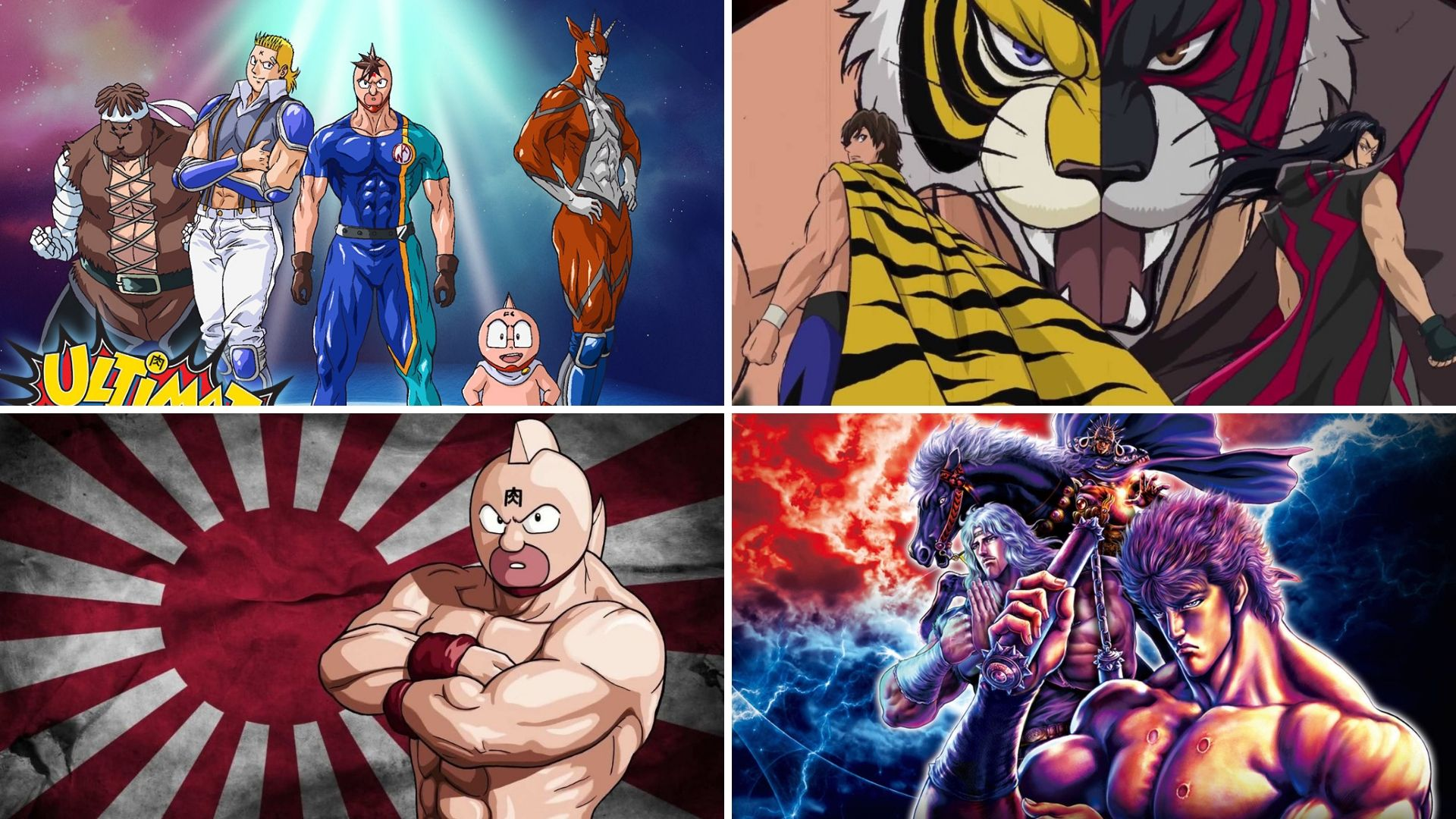 Anime Recommendations The Best Wrestling Anime Bare Foots World