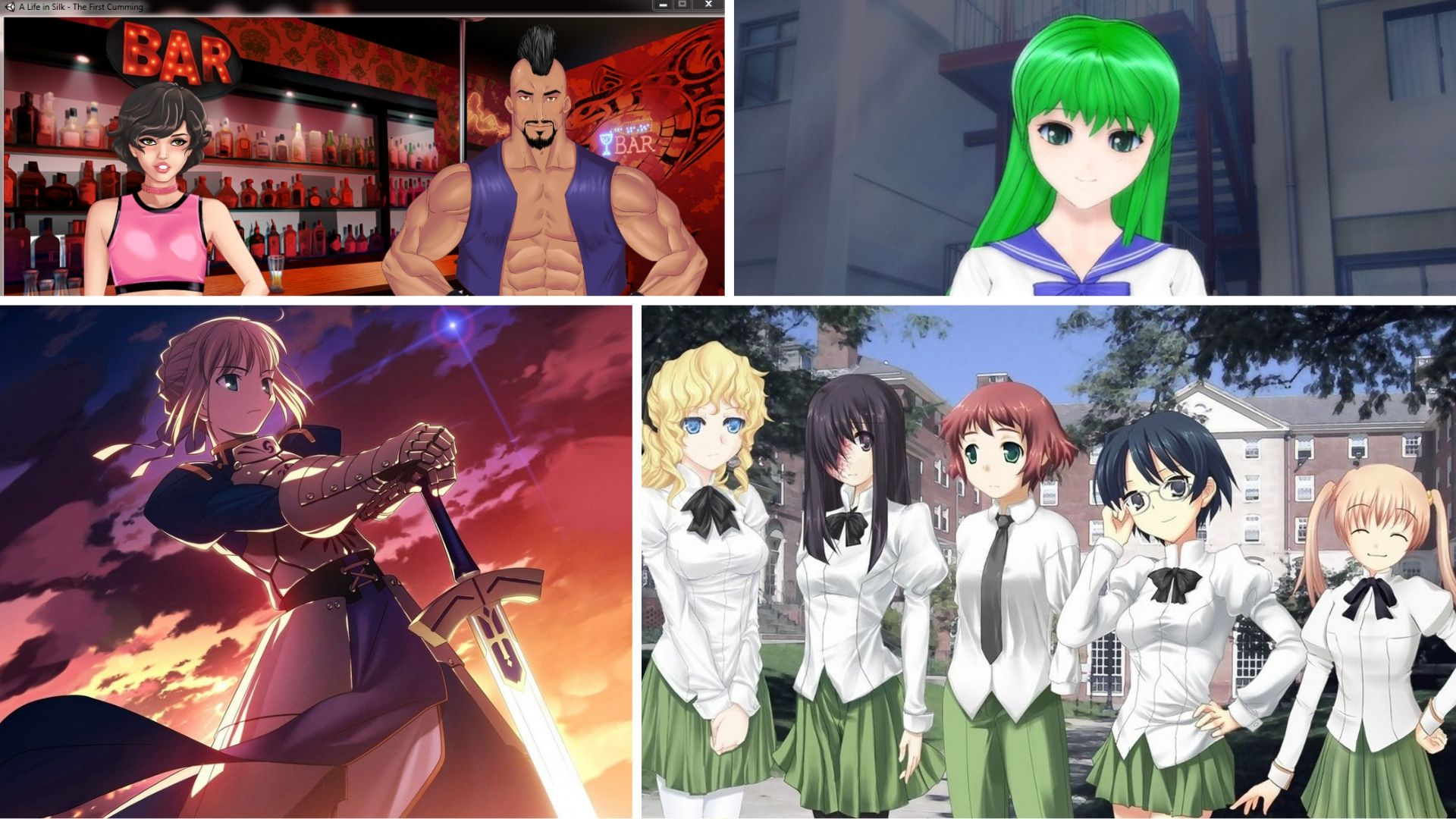 Photo of 4 Best Hentai Visual Novels Of All Time