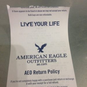 AEO Return Policy