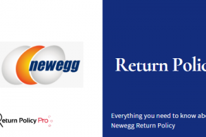 Newegg Return Policy