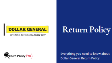 Dollar General Return Policy