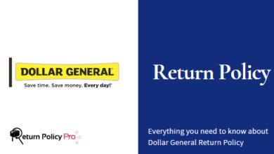 Photo of Dollar General Return Policy – Dollar General (DG) In-Store Returns