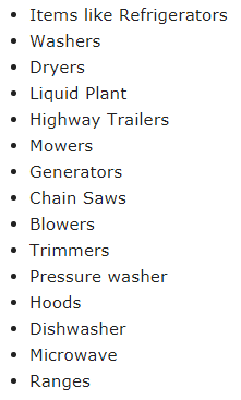 Lowes Exceptions