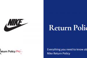 Nike Return Policy