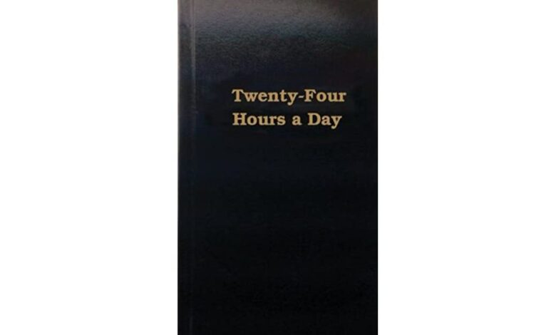Photo of Twenty-Four Hours a Day