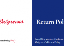 Walgreens Return Policy