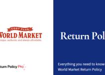 World Market Return Policy