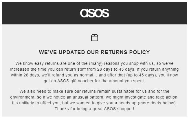 ASOS Return - How To Return ASOS?
